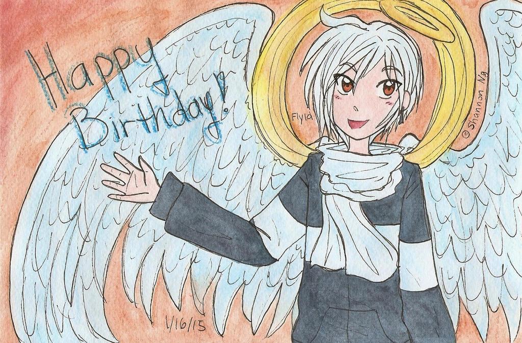 Flyid - Happy Birthday! by Starshinesoldier