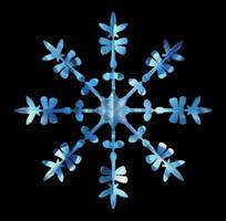 Sapphire Snowflake