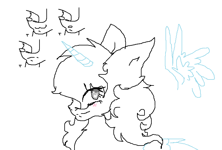 curly hair mlp base ms paint friendly c by