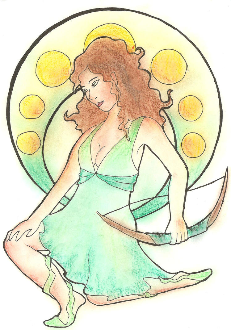 Artemis by lari-elassea