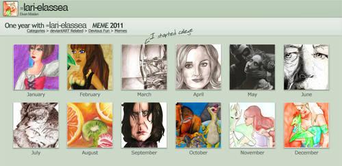 2011 summary of Art by lari-elassea