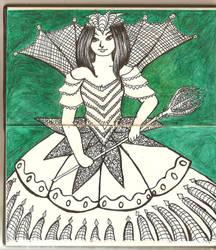 Green Queen by lari-elassea