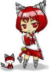 Chibi gadder cat