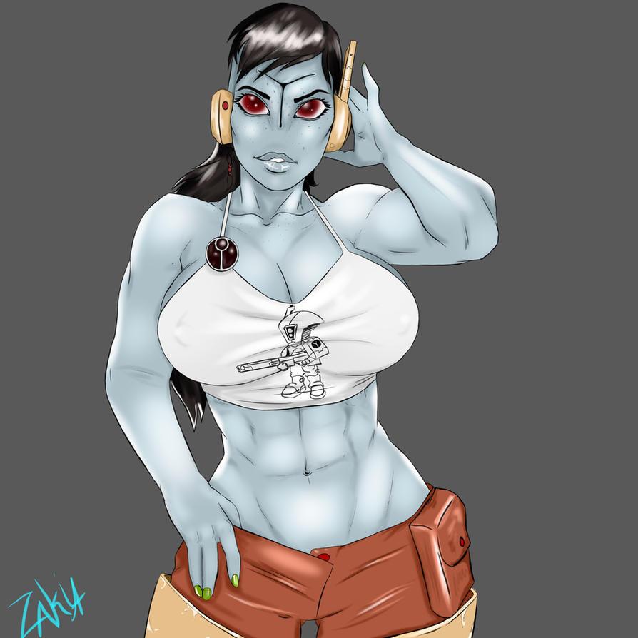 Tau girl by OrcBoozer
