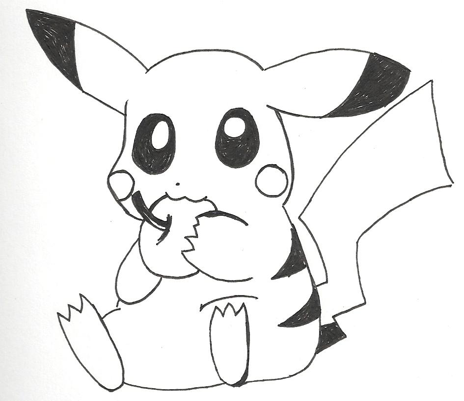 Dibujos Para Dibujar Pikachu Imagui