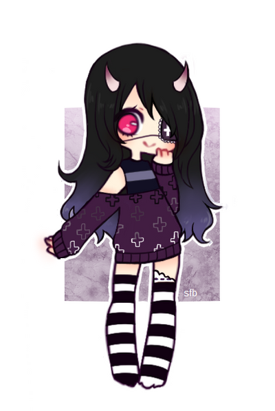 (reduced price) demon adopt (open) by sugar-flavored-blood