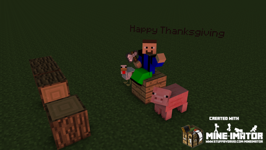 Happy Thanksgiving by AmanGaming1910