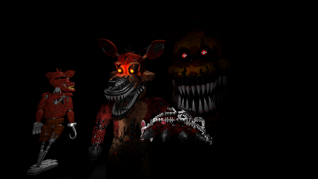 Foxy's Nightmare by AmanGaming1910