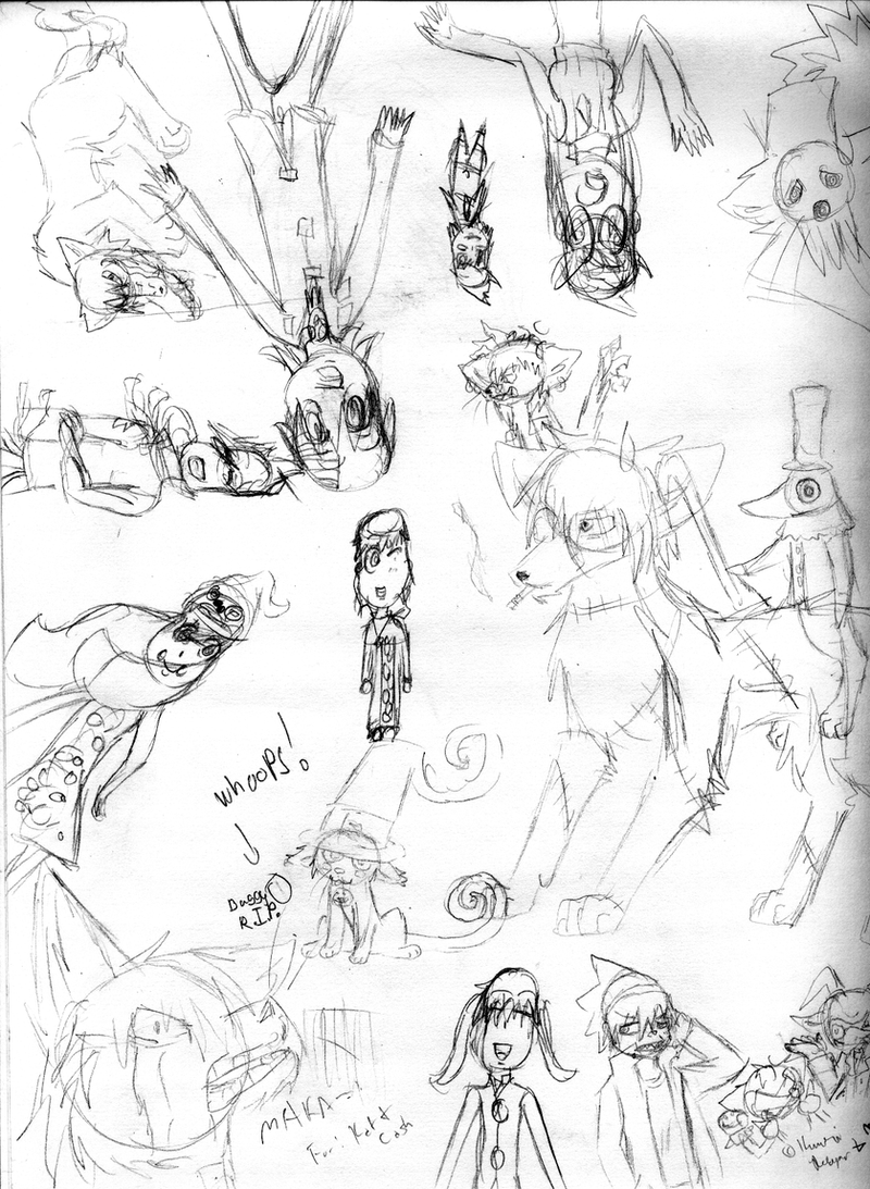 Soul Eater DQ Crack Collab by KumoriDragon
