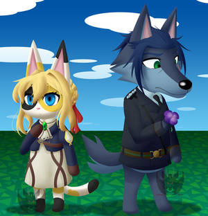 || Violet Evergarden X Animal Crossing ||