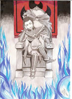 Lady of Fire Azula by Dannith