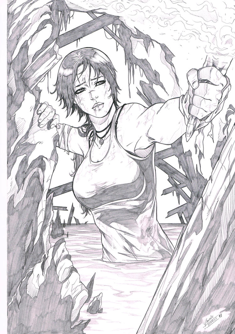 Lara Croft 2 by Dannith