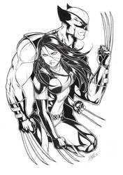 X23/Wolverine by Dannith
