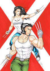 X23/Wolverine 2 by Dannith