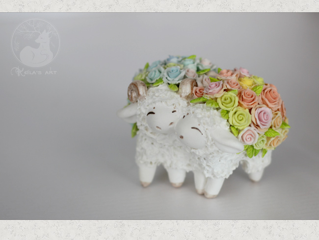 rose sheeps 01 by Keila-the-fawncat