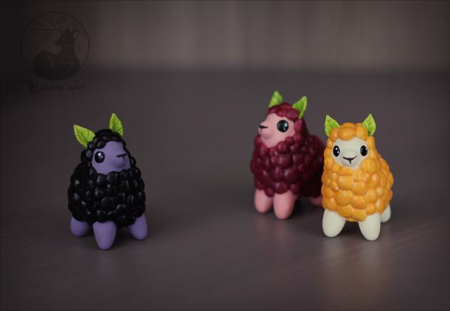 llamaberries 01 by Keila-the-fawncat