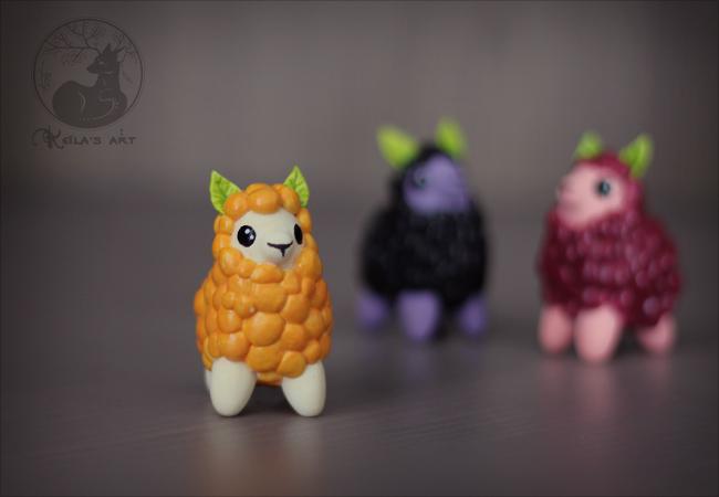 llamaberries 02 by Keila-the-fawncat