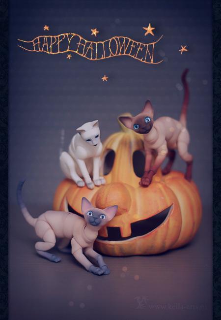 Happy Hallocatween by Keila-the-fawncat