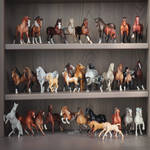 my Breyer collection by Keila-the-fawncat