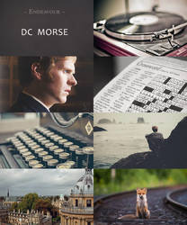 Endeavour authentics : Morse by Keila-the-fawncat