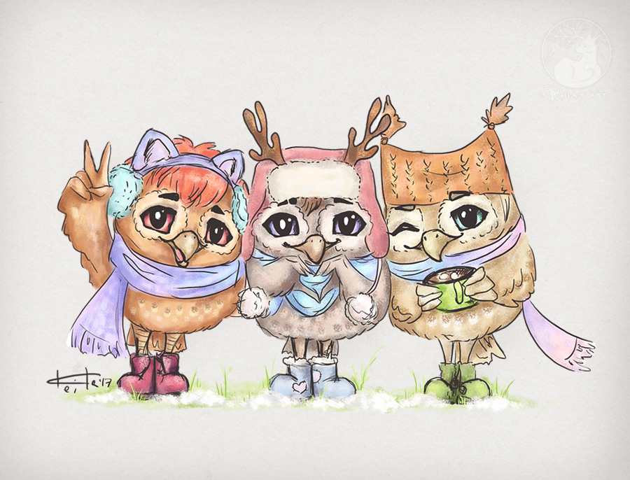 Owls-4-life by Keila-the-fawncat