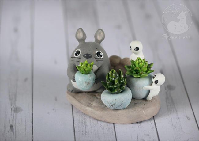 Totoro's garden