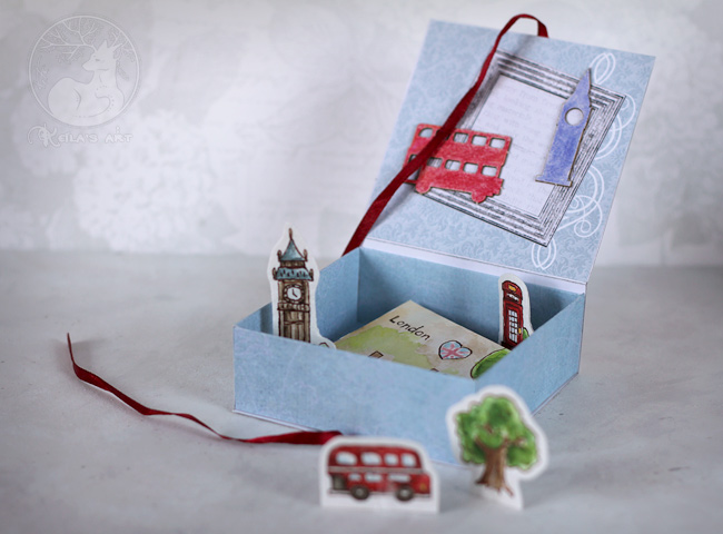 London map in the box by Keila-the-fawncat