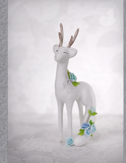 Blue-rose fawncat 01 by Keila-the-fawncat