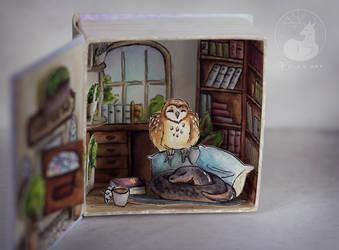 Good Omens : Ineffable box : inner world by Keila-the-fawncat