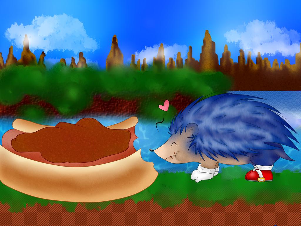 A Little Blue Hedgehog~ by RoseAbyss