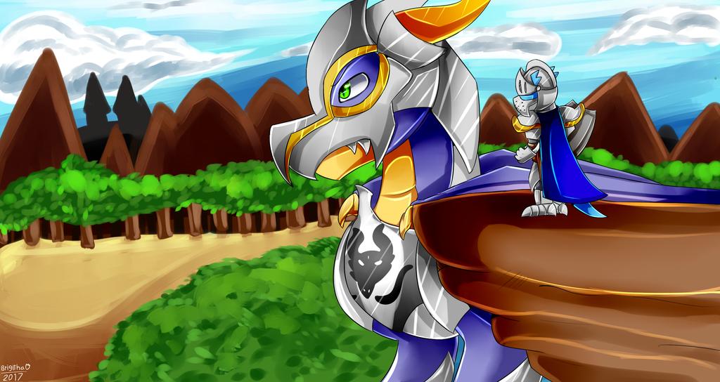This is Rider by FanDragonBrigitha