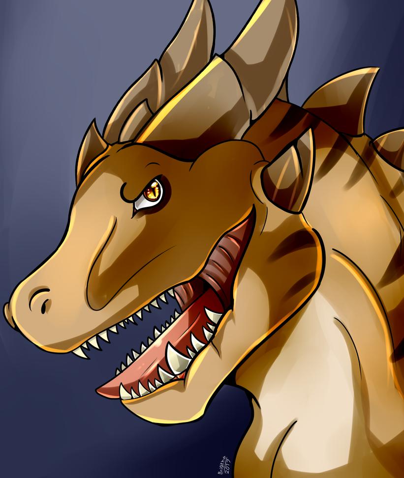 Rex-Dragon Favorite by FanDragonBrigitha