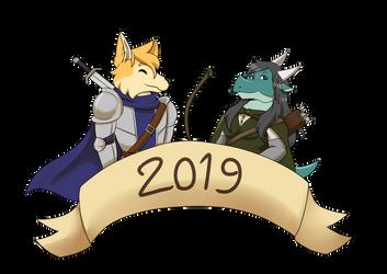 2019 by FanDragonBrigitha