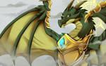 God of Dragon by FanDragonBrigitha