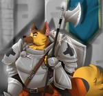 Army Dog by FanDragonBrigitha