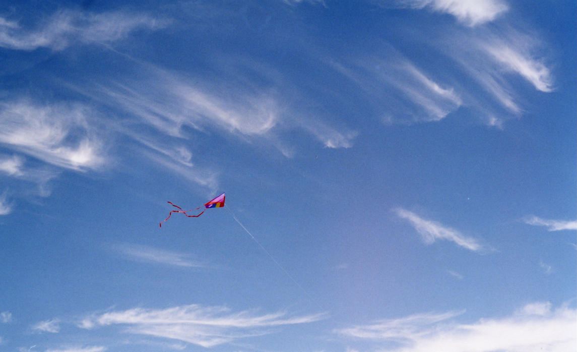 Kite Flying Stock by Limner-stock