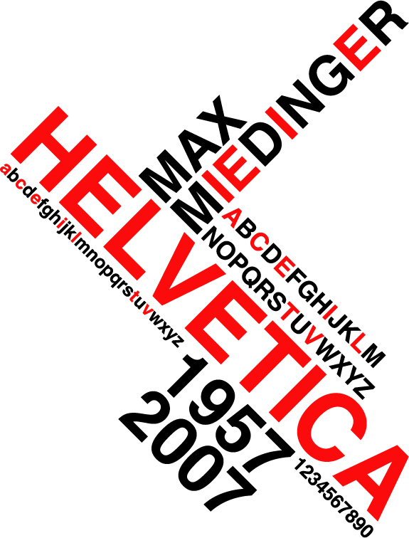 helvetica 50 years by Hairman