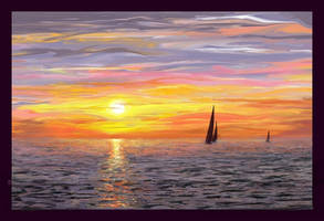 sunset by romantik111