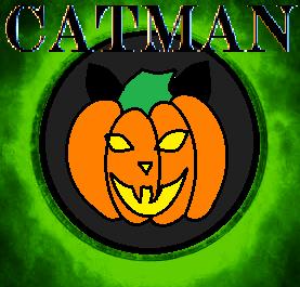 Catman Halloween Logo by animec20