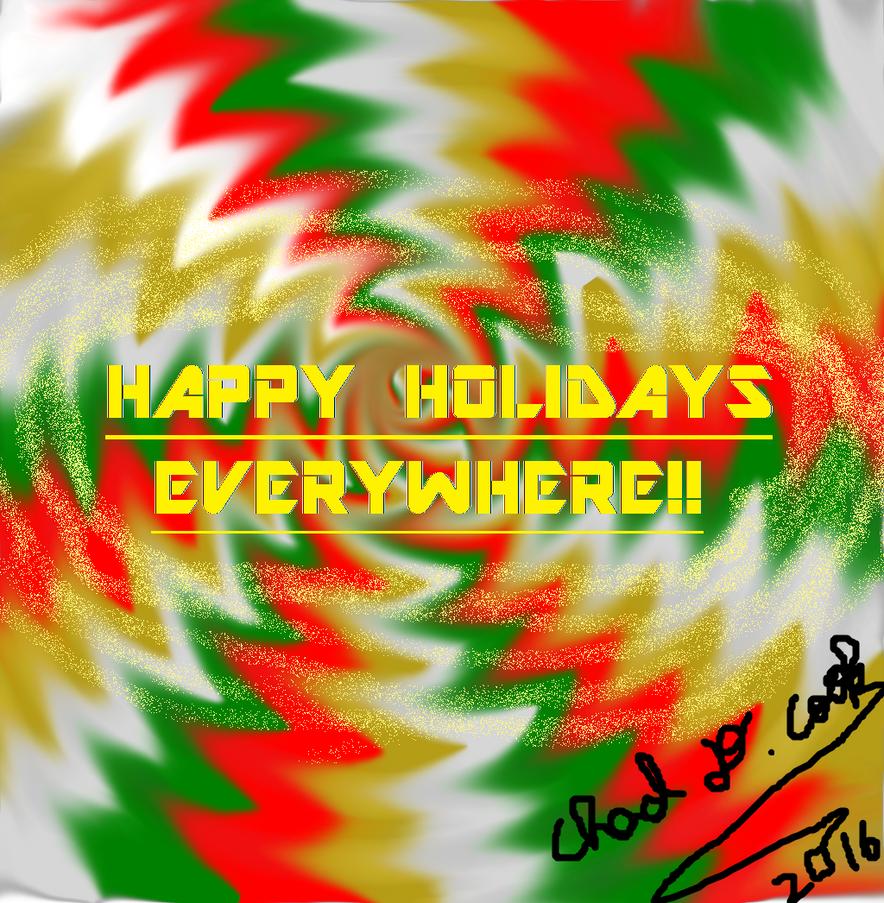 HAPPY HOLIDAYS EVERYWHERE. by animec20