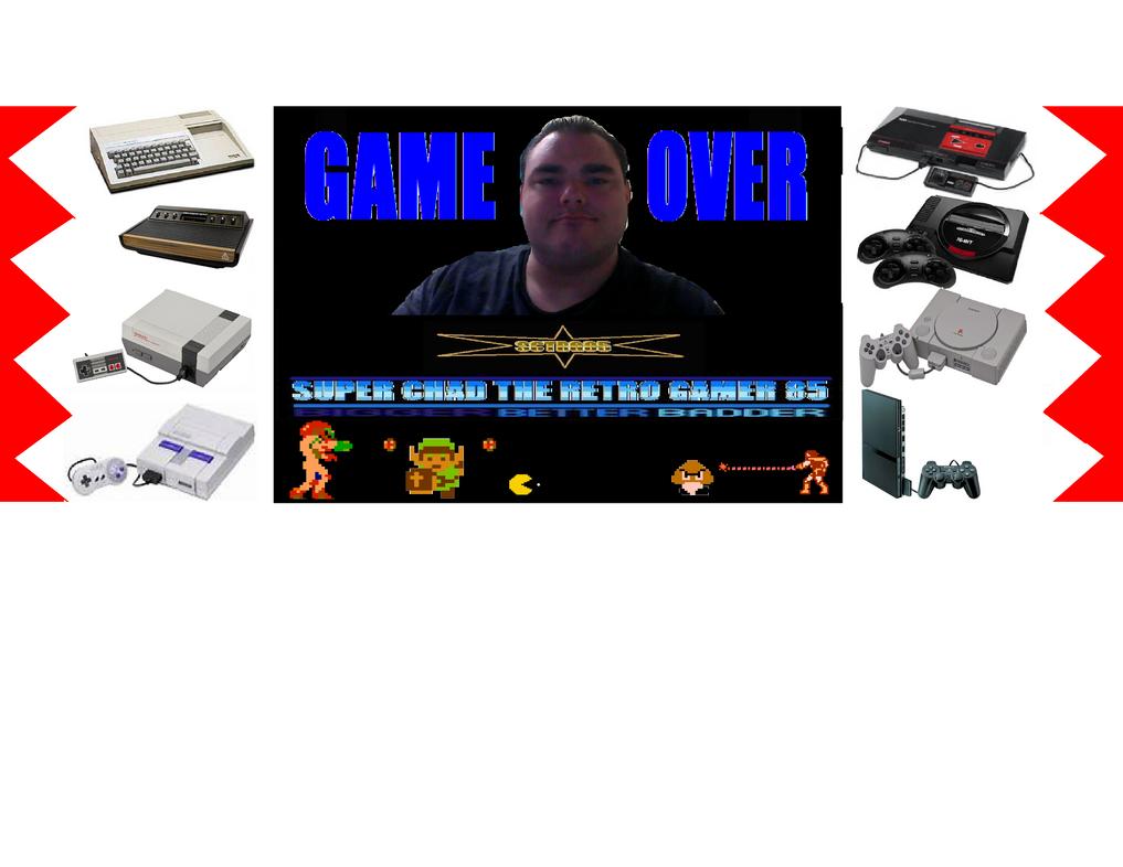 new logo for super chad the retro gamer 85 by animec20