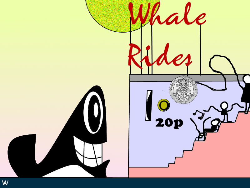 Whale Rides by ArtyWoodKeeper