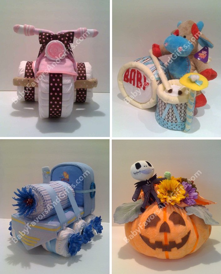 Diaper Cakes, Nappy Cake   Baby Shower Gift Ideas By Babyfavors ...