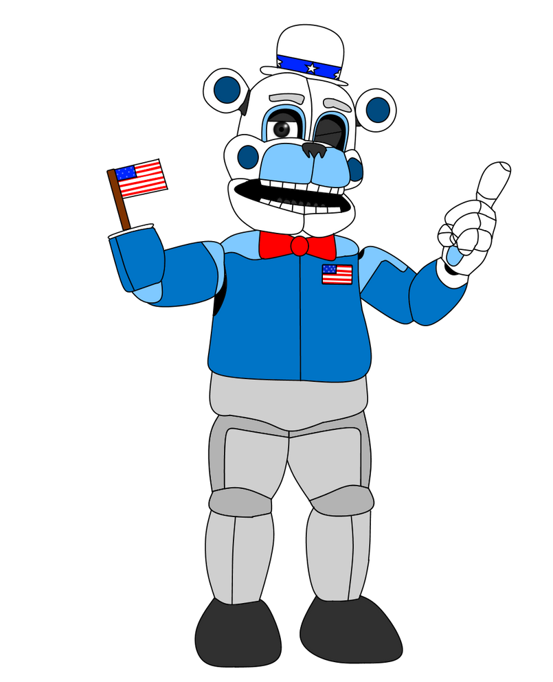 American Funtime Freddy by russellsterlingdyer