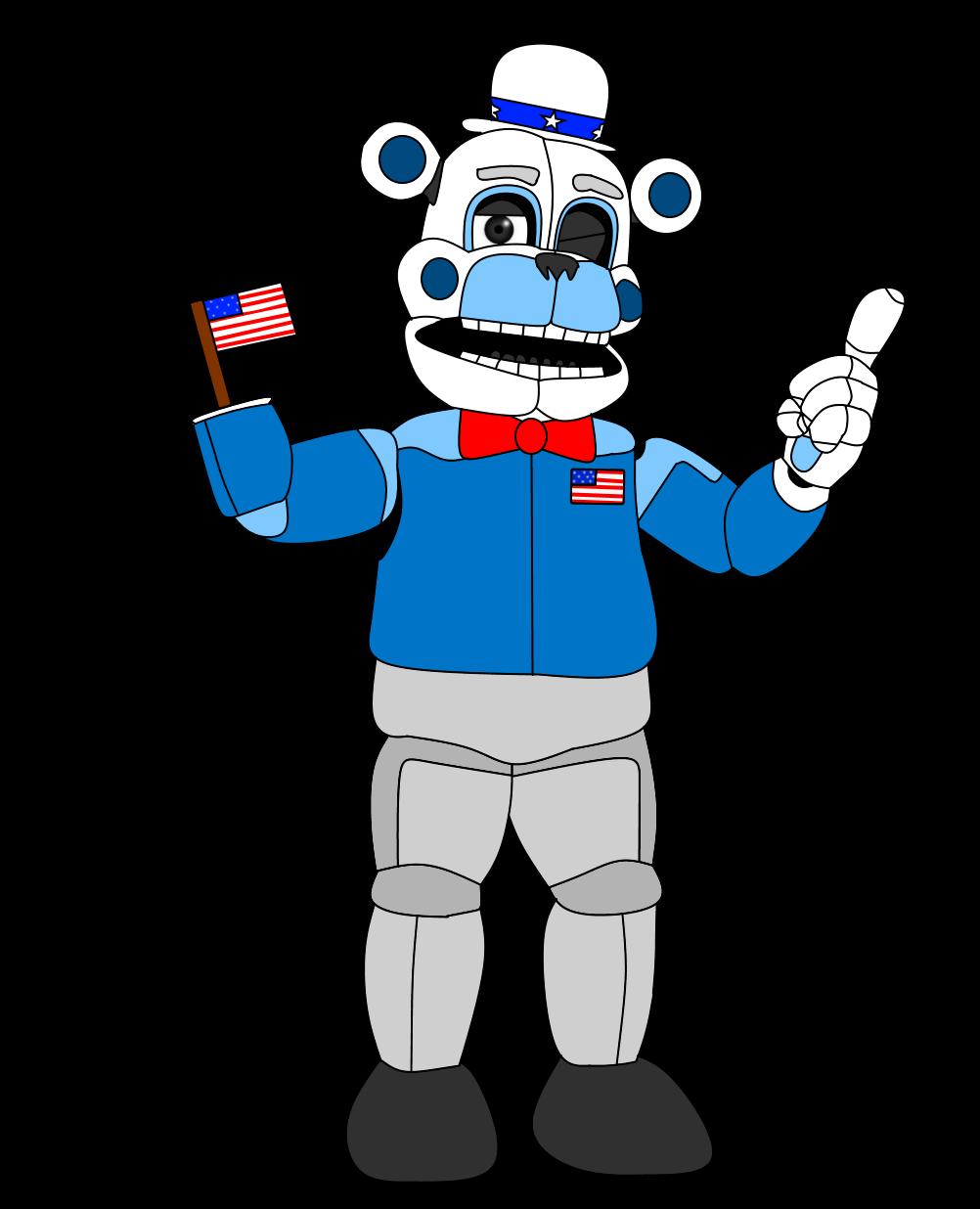 American Funtime Freddy by russellsterlingdyer