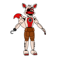 Piratetime Foxy by russellsterlingdyer