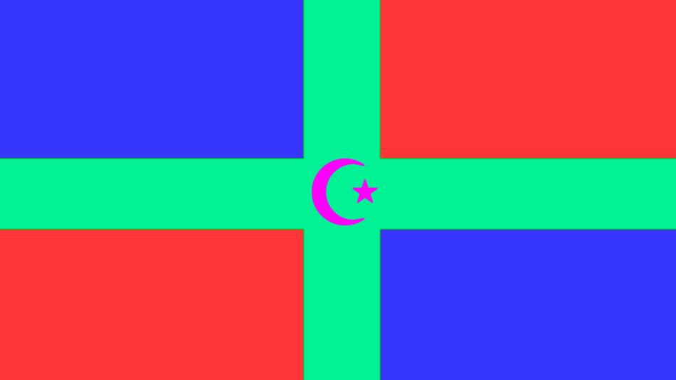 Starkland Flag by russellsterlingdyer