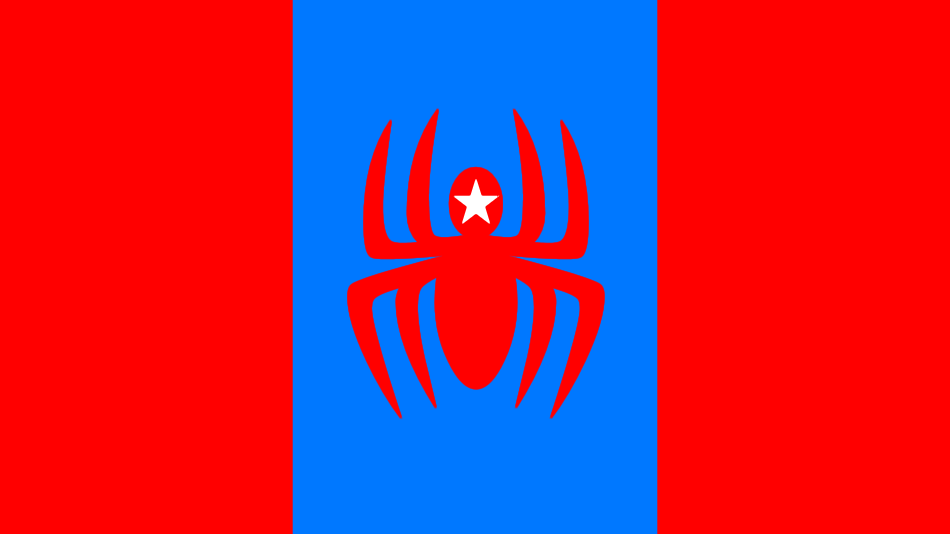 United States of Spiderfield Flag by russellsterlingdyer