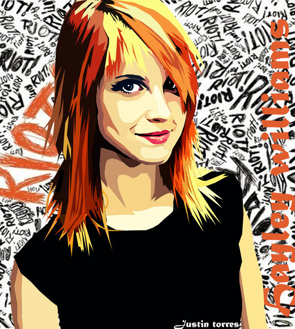 hayley williams hair crushcrushcrush. Hayley Williams by ~tator2120