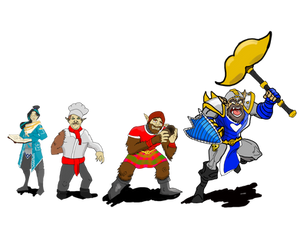 Jojo Jenkins and His Retainers (DND)